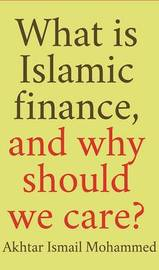 What Is Islamic Finance, and Why Should We Care? by Akhtar Mohammed