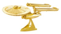 Metal Earth: Star Trek GOLD: USS Enterprise NCC:1701 - Model Kit