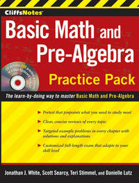 CliffsNotes Basic Math and Pre-Algebra Practice Pack by Jonathan J White image