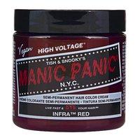 Manic Panic Semi-Permanent Hair Colour Cream - Infra Red