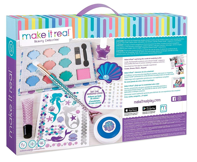 Make It Real: Mega Mermaid Makeover - Beauty Set image
