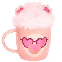 Sunnylife: Fluffy Mug & Keychain Set - Llama
