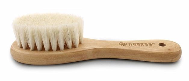 Haakaa: Goat Wool - Baby Hair Brush