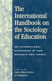 The International Handbook on the Sociology of Education image