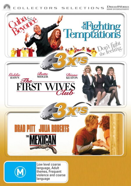 3x's - Fighting Temptations / First Wives Club / Mexican (Collectors Selections) (3 Disc Set) on DVD