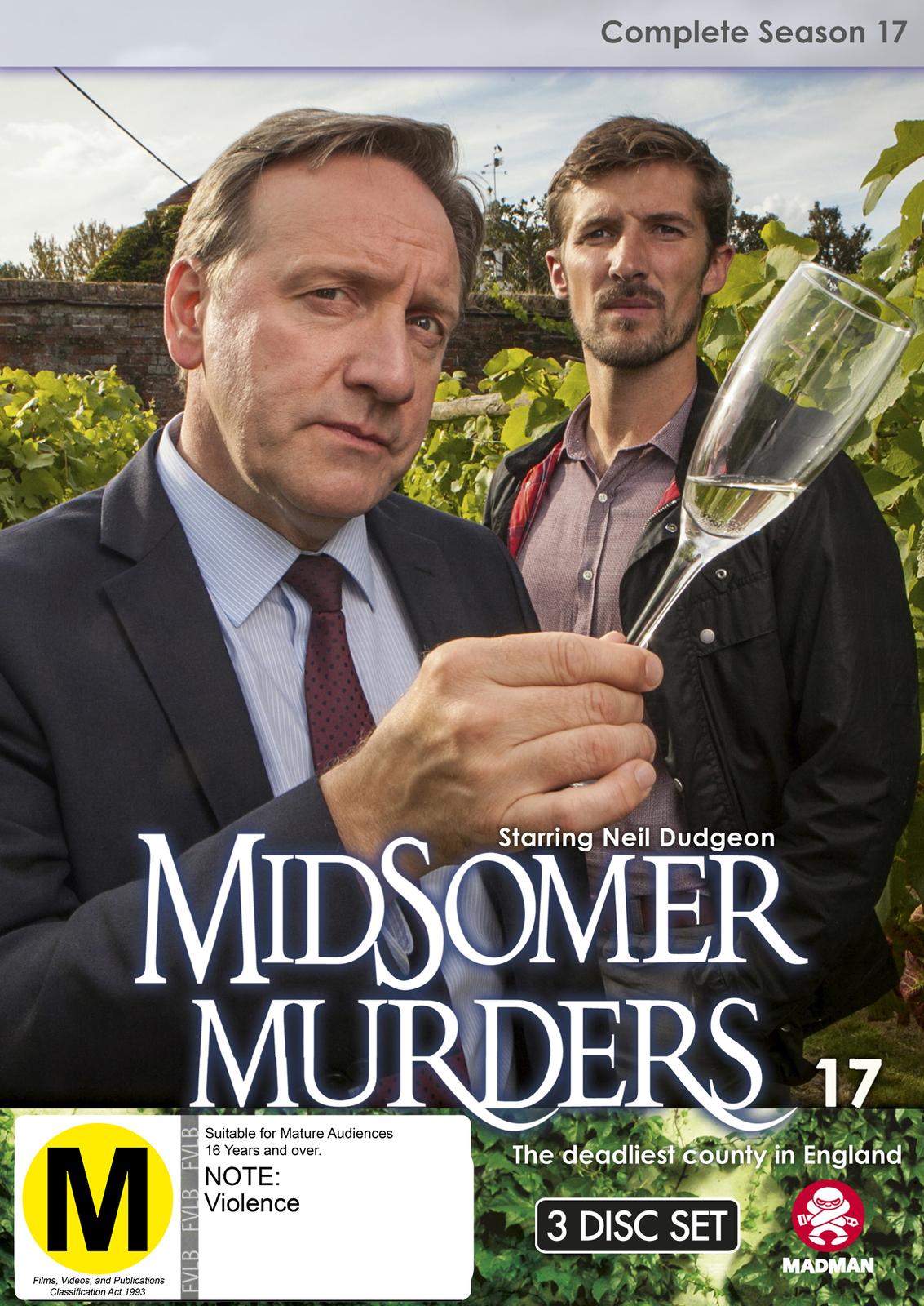Midsomer Murders - Complete Season 17 on DVD image