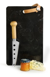 Sagaform: Marble Tray with Cheese Knife