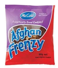 McColls: Afghan Frenzy (80g x 10)
