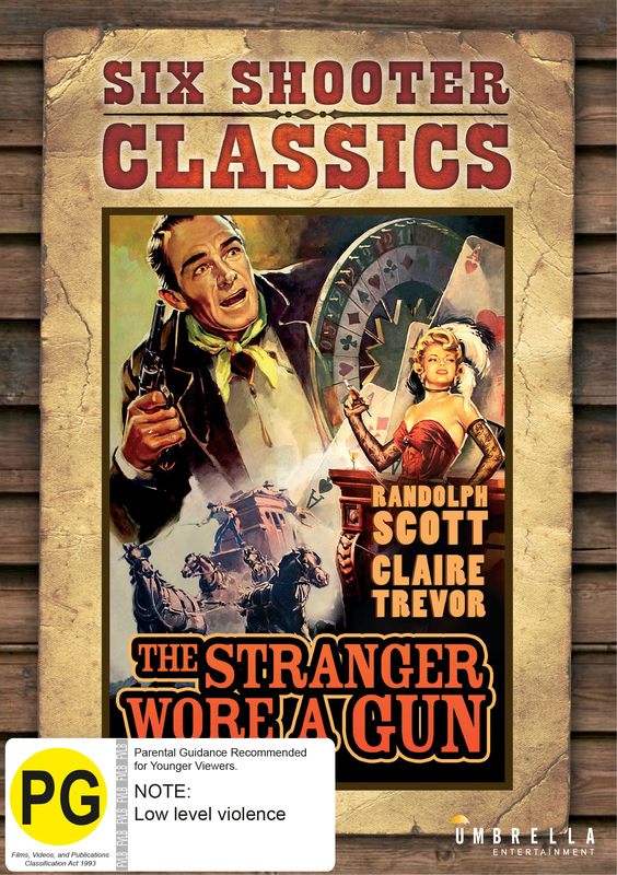 The Stranger Wore A Gun (Six Shooter Classics) on DVD
