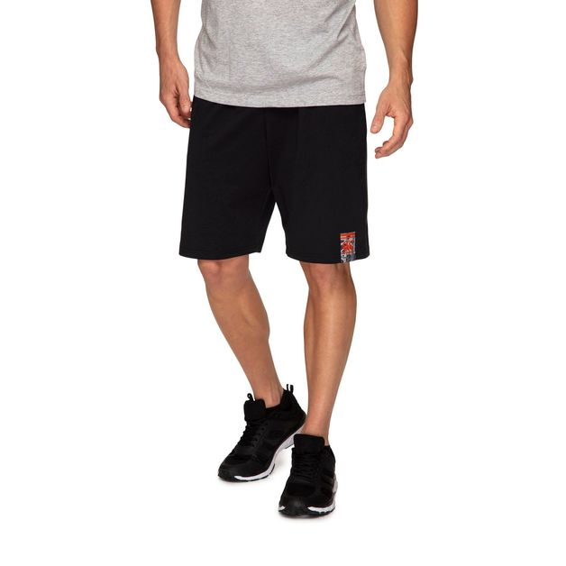 "Canterbury: Mens Camo Logo Print Shorts 9"" - Black (Large)"