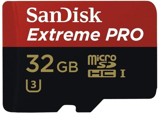 SanDisk: Extreme Pro - 32GB MicroSDHC SD Card