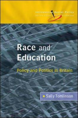 Race and Education by Sally Tomlinson image