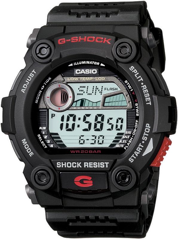 Casio Shock resistant G-Shock G7900-1D