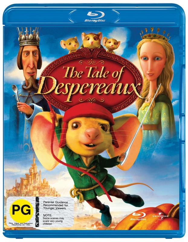 The Tale of Despereaux on Blu-ray