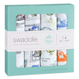 Aden+Anais: Disney Baby Swaddle - Winnie The Pooh (4 Pack Swaddling Wraps)