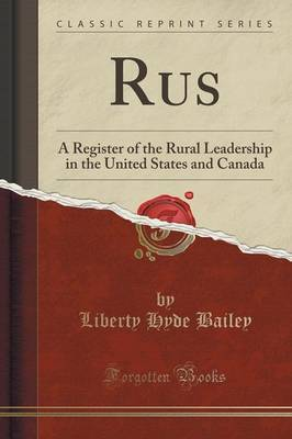 Rus by Liberty Hyde Bailey image