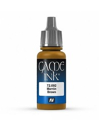 Vallejo Game Colour Brown Ink 17ml