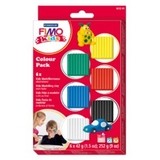 Staedtler Fimo Kids Modelling Clay - Basic Colors (Set Of 6)
