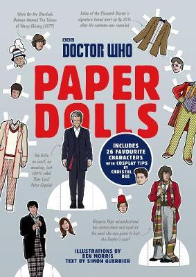 Doctor Who Paper Dolls by Simon Guerrier image