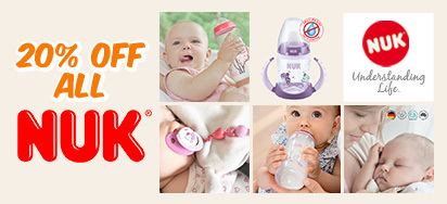 20% Off All NUK!