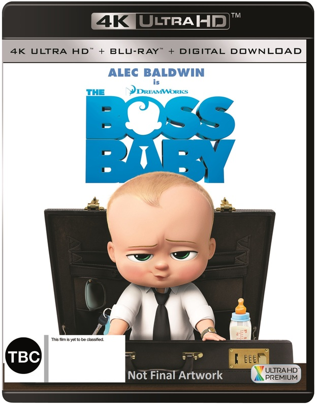 The Boss Baby (4K UHD + Blu-ray) on UHD Blu-ray