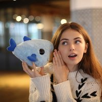 "Mini Goblin Shark - 8"" Plush Toy image"