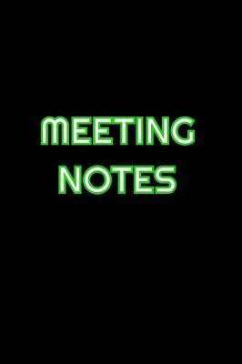 Meeting Notes by Simply Career Notebooks
