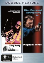 Dirty Harry / Magnum Force - Double Feature (2 Disc Set) on DVD