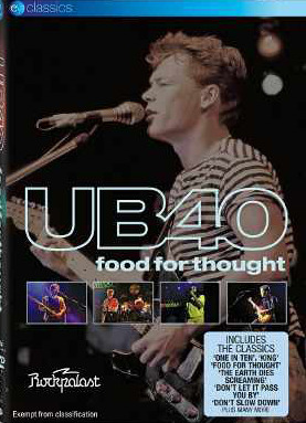 UB40 - Food For Thought: Live At Rockpalast on