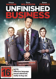 Unfinished Business on DVD