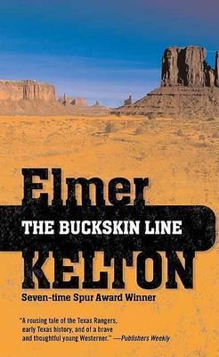 The Buckskin Line by Elmer Kelton image
