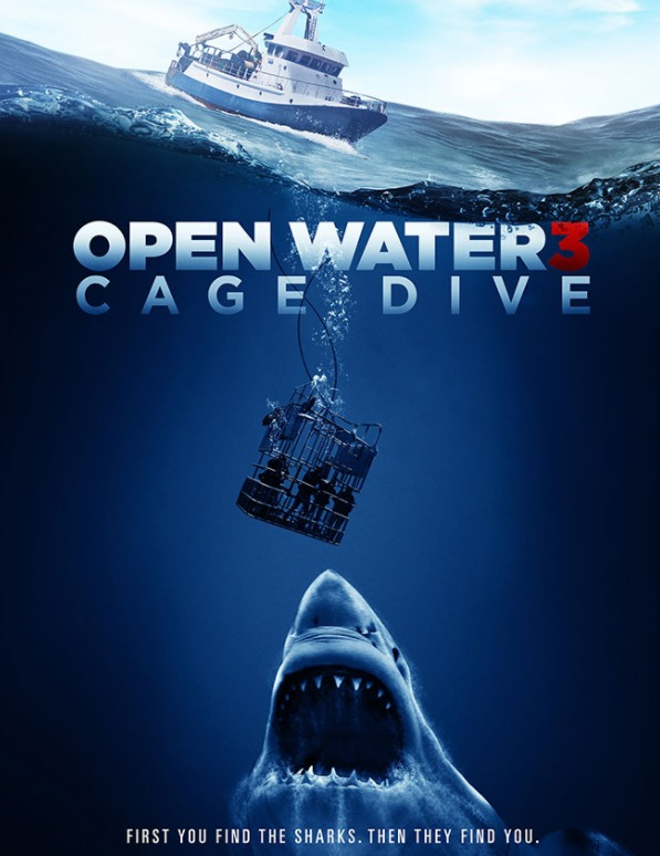 Open Water 3: Cage Dive on DVD image