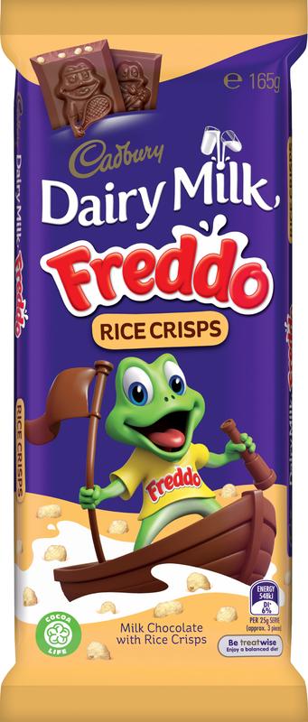 Cadbury Dairy Milk Freddo Rice Crisps (165g)