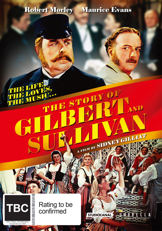 The Story Of Gilbert And Sullivan on DVD