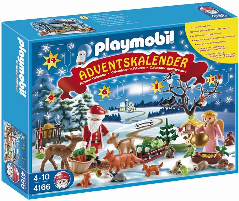 Playmobil Advent Calendar Playset - Forest Animals (Age 4+) image