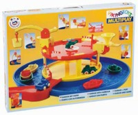 Viking Toys - Multiplay Garage with Harbour Set