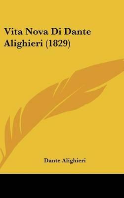 Vita Nova Di Dante Alighieri (1829) by Dante Alighieri image