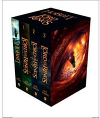 The Hobbit and The Lord of the Rings Box Set (4 Books) by J.R.R. Tolkien