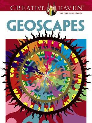 Creative Haven Geoscapes Coloring Book by David Hop