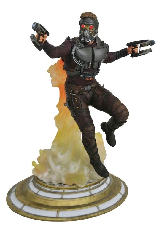 "Guardians of the Galaxy: Vol. 2: Star-Lord - 11"" PVC Diorama"