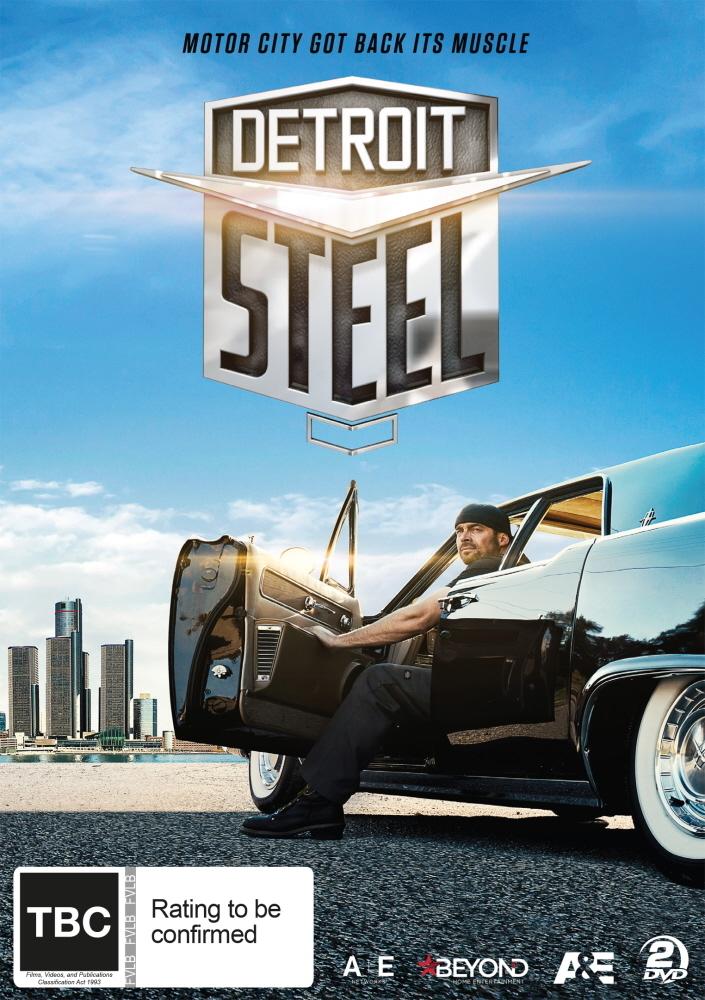 Detroit Steel on DVD image