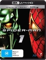 Spider-Man (2002) on Blu-ray, UHD Blu-ray, UV