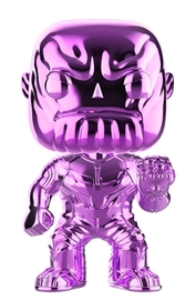 Avengers: Infinity War - Thanos (Purple Chrome) Pop! Vinyl Figure