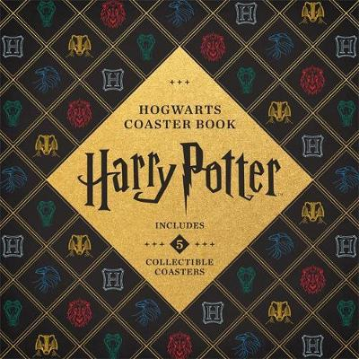Harry Potter Hogwarts Coaster Book by Danielle Selber
