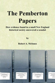 The Pemberton Papers by Robert A. McInnes image
