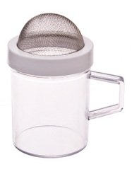 Flour/Sugar Plastic Shaker with Mesh Top