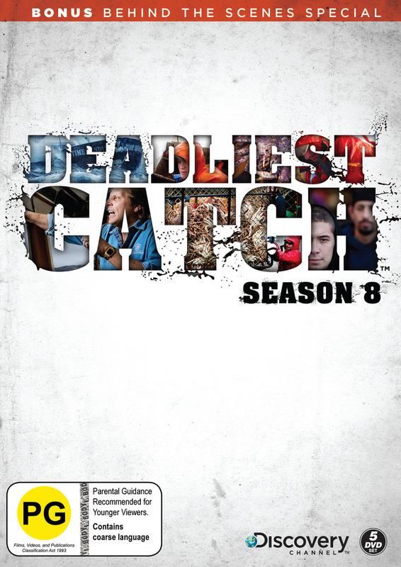 Deadliest Catch - Season 8 on DVD