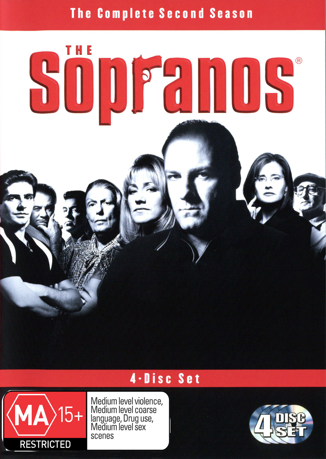 The Sopranos - Season 2 (4 Disc Box Set) on DVD image