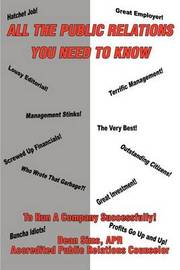 All the Public Relations You Need to Know to Run a Company Successfully! by Dean Sims image