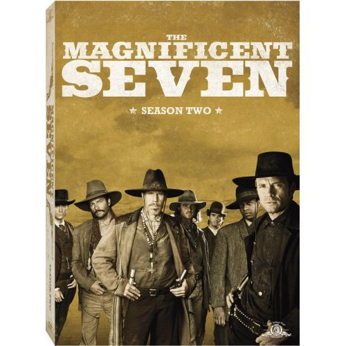 The Magnificent Seven Season 2 (3 Disc Set) on DVD image